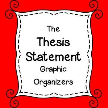 Statement thesis worksheet